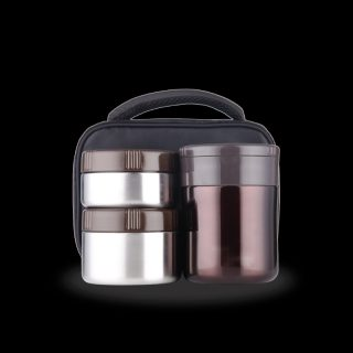 La gourmet® The Smart Lunch Box 3pcs Thermal Lunch Set