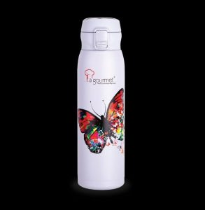 La gourmet® Butterfly JY Collection 650ml One Touch with Special 3D Printing