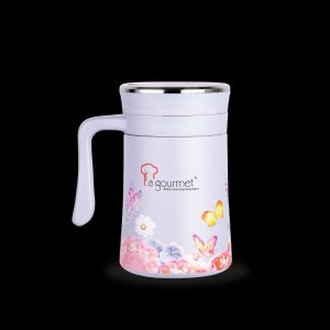 La gourmet® Butterfly JY Collection 500ml Mug with Special 3D Printing