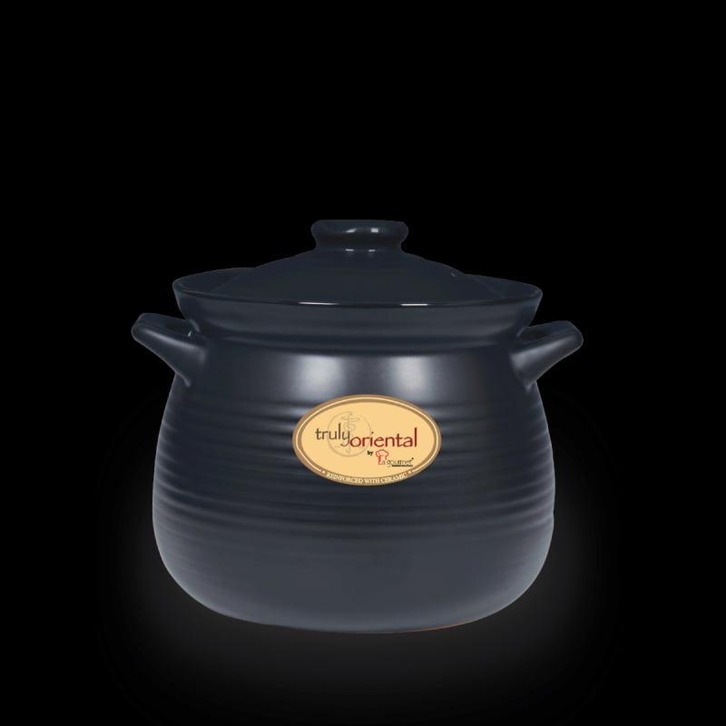 2L-Truly-Oriental-Toughened-Claypot(Black)