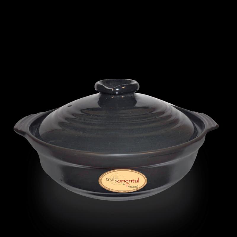 4L-Truly-Oriental-Toughened-Claypot(Black)-IH