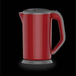 1.7L Seamless Healthy Electric Kettle-Red