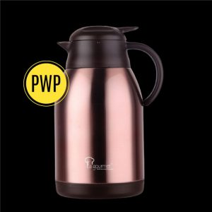 Rose Gold 2000ml Thermal Coffee Pot (PWP RM99.00 with any purchase above RM150)