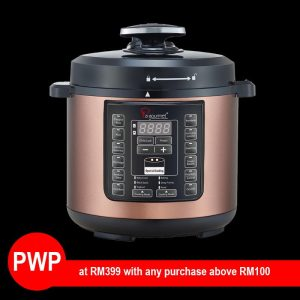 Pressure Cooker Chef Wan Collection (PWP RM399 with any Purchase Above RM100)