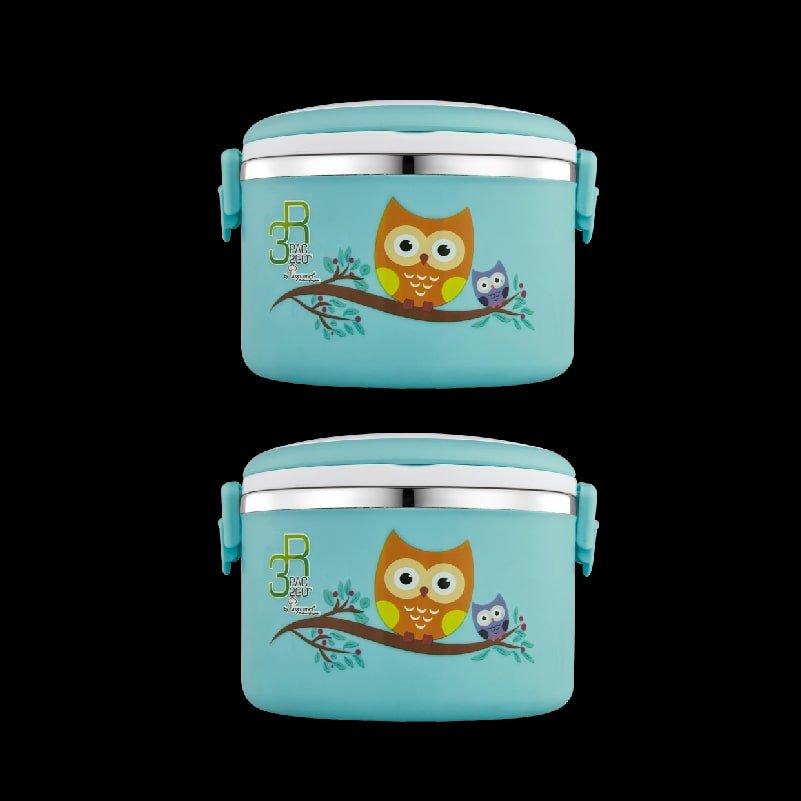 PAC2GO 1L Owl lunch box-min